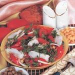 """Рыбный салат """"Пикантный"""""""
