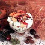 Мороженое с шоколадной глазурью