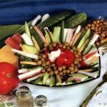 Салат из крабовых палочек с овощами