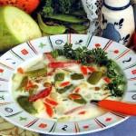 Суп из говядины с плавленым сыром