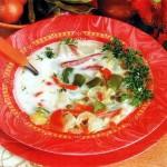 Луковый суп с говядиной