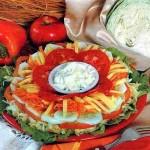 Многослойный салат