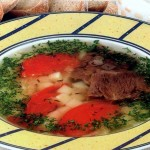 Суп острый с картофелем и рисом